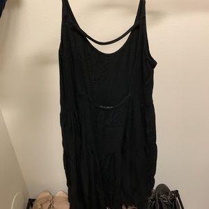 Brandy Melville Dresses - Brandy melville thick black jada dress